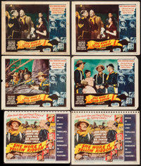 """She Wore a Yellow Ribbon (RKO, 1949). Title Lobby Cards (2) & Lobby Cards (4) (11"""" X 14""""). Western..."""