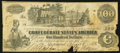 Confederate Notes:1862 Issues, T39 $100 1862 PF-9 Cr UNL.. ...