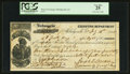 Milledgeville, GA- Serial Number 1 Third of Exchange for Executive Department 3747 Pounds Sterling July 14, 1865