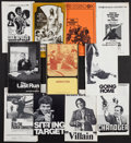 """Movie Posters:Action, The French Connection & Others Lot (20th Century Fox, 1971). Pressbooks (42) (Multiple Pages, Various Sizes), Presskit (9"""" X... (Total: 49 Items)"""