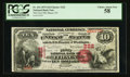 National Bank Notes:New York, Ithaca, NY - $10 1875 Fr. 416 The First NB Ch. # 222. ...