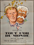 """Movie Posters:Foreign, All the Gold in the World (Cinedis, 1961). French Grande (47"""" X 63"""") Style B. Foreign.. ..."""