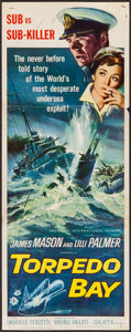 """Movie Posters:War, Torpedo Bay & Others Lot (American International, 1964). Insert(14"""" X 36""""), Title Lobby Card & Lobby Cards (12) (11"""" X 14"""")...(Total: 14 Items)"""