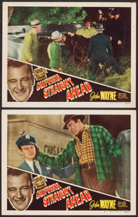 "California Straight Ahead (Film Classics, R-1948). Lobby Cards (2) (11"" X 14""). Action. ... (Total: 2 Items)"