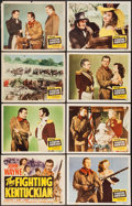 "Movie Posters:Western, The Fighting Kentuckian (Republic, 1949). Lobby Card Set of 8 (11"" X 14""). Western.. ... (Total: 8 Items)"
