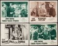 """Movie Posters:Western, Pals of the Saddle & Others Lot (Republic, R-1953). Lobby Cards (4) (11"""" X 14""""). Western.. ... (Total: 4 Items)"""