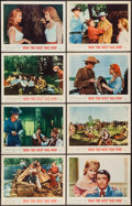 "Movie Posters:Western, How the West was Won (MGM, 1963). Lobby Card Set of 8 (11"" X 14"").Western.. ... (Total: 8 Items)"