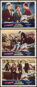 "Movie Posters:Action, The Sea Spoilers (Realart, R-1948). Lobby Cards (3) (11"" X 14"").Action.. ... (Total: 3 Items)"