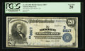 National Bank Notes:Texas, Moore, TX - $20 1902 Plain Back Fr. 652 The Moore NB Ch. # (S)8817. ...