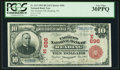 National Bank Notes:Pennsylvania, Reading, PA - $10 1902 Red Seal Fr. 613 The Farmers NB Ch. #(E)696. ...