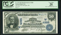 National Bank Notes:Oklahoma, Muscogee, OK - $50 1902 Plain Back Fr. 678 The First NB Ch. # (W)4385. ...