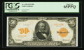 Large Size:Gold Certificates, Fr. 1198 $50 1913 Gold Certificate PCGS Gem New 65PPQ.. ...
