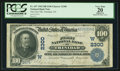 National Bank Notes:Colorado, Trinidad, CO - $100 1902 Date Back Fr. 697 The First NB Ch. #(W)2300. ...