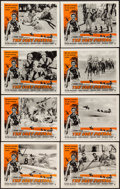 "Movie Posters:War, The Lost Patrol (RKO, R-1954). Lobby Card Set of 8 (11"" X 14"").War.. ... (Total: 8 Items)"