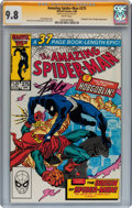 Modern Age (1980-Present):Superhero, The Amazing Spider-Man #275 Signed by Stan Lee (Marvel, 1986) CGCSignature Series NM/MT 9.8 White pages....