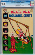 Bronze Age (1970-1979):Humor, Richie Rich Dollars and Cents #40 File Copy (Harvey, 1971) CGCNM/MT 9.8 Off-white to white pages....