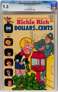 Bronze Age (1970-1979):Humor, Richie Rich Dollars and Cents #37 File Copy (Harvey, 1970) CGCNM/MT 9.8 White pages....