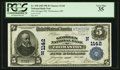 National Bank Notes:Maine, Thomaston, ME - $5 1902 Plain Back Fr. 598 The Georges NB Ch. #(N)1142. ...