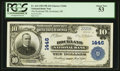 National Bank Notes:Maine, Rockland, ME - $10 1902 Plain Back Fr. 624 The Rockland NB Ch. #1446. ...