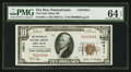 National Bank Notes:Pennsylvania, Dry Run, PA - $10 1929 Ty. 1 The Path Valley NB Ch. # 10811. ...
