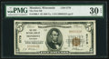 National Bank Notes:Wisconsin, Mondovi, WI - $5 1929 Ty. 1 The First NB Ch. # 5779. ...