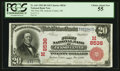 Jackson Center, OH - $20 1902 Red Seal Fr. 641 The First NB Ch. # (M)8536
