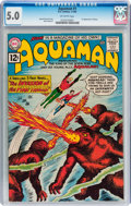 Silver Age (1956-1969):Superhero, Aquaman #1 (DC, 1962) CGC VG/FN 5.0 Off-white pages....