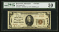 National Bank Notes:Maryland, Brunswick, MD - $20 1929 Ty. 2 The Peoples NB Ch. # 14044. ...