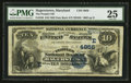 National Bank Notes:Maryland, Hagerstown, MD - $10 1882 Date Back Fr. 540 The Peoples NB Ch. #(E)4856. ...