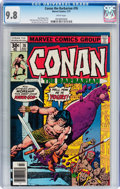 Bronze Age (1970-1979):Miscellaneous, Conan the Barbarian #76 (Marvel, 1977) CGC NM/MT 9.8 Whitepages....