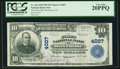 National Bank Notes:Colorado, Montrose, CO - $10 1902 Plain Back Fr. 626 The First NB Ch. # 4007....