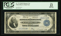 Fr. 775 $2 1918 Federal Reserve Bank Note PCGS Apparent Fine 15