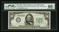 Small Size:Federal Reserve Notes, Fr. 2102-E $50 1934 Federal Reserve Note. PMG Gem Uncirculated 66 EPQ.. ...