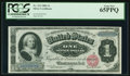 Large Size:Silver Certificates, Fr. 215 $1 1886 Silver Certificate PCGS Gem New 65PPQ.. ...