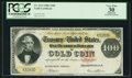 Large Size:Gold Certificates, Fr. 1211 $100 1882 Gold Certificate PCGS Apparent Very Fine 30.....