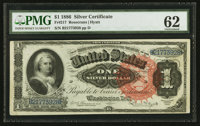 Fr. 217 $1 1886 Silver Certificate PMG Uncirculated 62