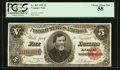 Large Size:Treasury Notes, Fr. 363 $5 1891 Treasury Note PCGS Choice About New 58.. ...