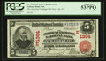 New York, NY - $5 1902 Red Seal Fr. 588 The American Exchange NB Ch. # (E)1394
