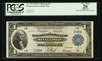 Fr. 734 $1 1918 Federal Reserve Bank Note PCGS Apparent Very Fine 20