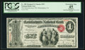 National Bank Notes:Pennsylvania, Philadelphia, PA - $1 Original Fr. 380 The Manufacturers NB Ch. #557. ...
