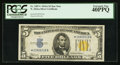 Small Size:World War II Emergency Notes, Fr. 2307* $5 1934A North Africa Silver Certificate. PCGS Extremely Fine 40PPQ.. ...