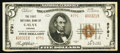 National Bank Notes:Virginia, Galax, VA - $5 1929 Ty. 2 The First NB Ch. # 8791. ...