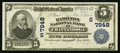National Bank Notes:Tennessee, Chattanooga, TN - $5 1902 Plain Back Fr. 598 The Hamilton NB Ch. #(S)7848. ...