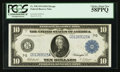 Large Size:Federal Reserve Notes, Fr. 930 $10 1914 Federal Reserve Note PCGS Choice About New 58PPQ.. ...