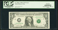 Error Notes:Mismatched Prefix Letters, Fr. 1925-L $1 1999 Federal Reserve Note. PCGS Gem New 65PPQ.. ...