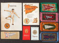 Non-Sport Cards:Lots, 1910's College Sports Silks and Rugs Collection (34) Many HighGrade. ...