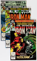 Modern Age (1980-Present):Superhero, Iron Man Short Box Group (Marvel, 1981-96) Condition: AverageNM....