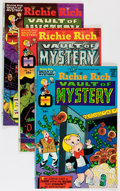 Bronze Age (1970-1979):Cartoon Character, Richie Rich Vaults of Mystery #1-47 File Copy Short Box Group(Harvey, 1974-82) Condition: Average NM-....