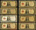 Small Size:Legal Tender Notes, Fr. 1500 $1 1928 Legal Tender Notes. Twenty-one Examples.. ... (Total: 21 notes)