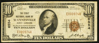 Waynesville, NC - $10 1929 Ty. 1 The First NB Ch. # 6554